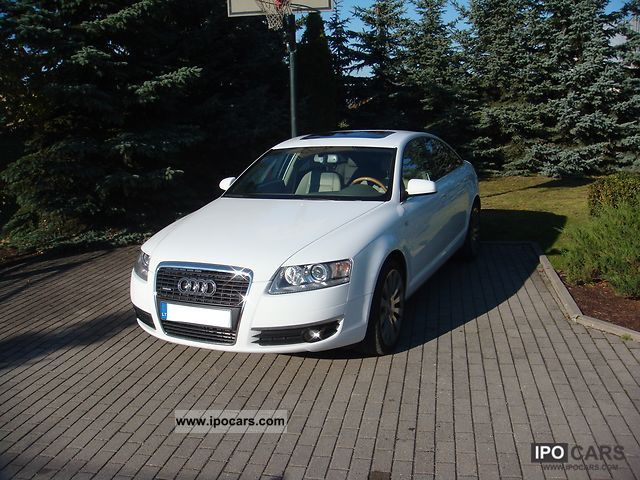2008 audi a6 3 2 fsi quattro tiptronic car photo and specs. Black Bedroom Furniture Sets. Home Design Ideas
