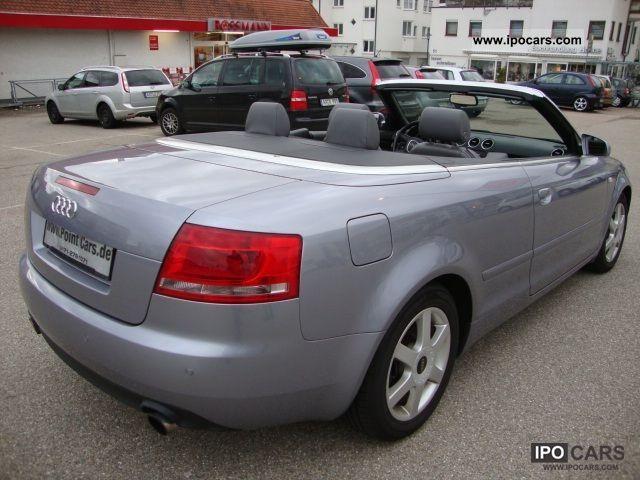 2006 audi a4 cabriolet turbo fsi multitronic 57000km car photo and specs. Black Bedroom Furniture Sets. Home Design Ideas