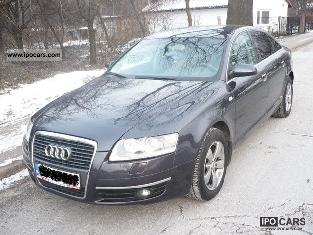 2006 audi a6 krajowa idealna quattro car photo and specs. Black Bedroom Furniture Sets. Home Design Ideas