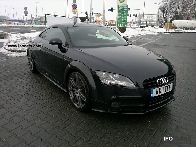 2011 audi tt 2 0 tfsi xenon climate tempom s line car photo and specs. Black Bedroom Furniture Sets. Home Design Ideas