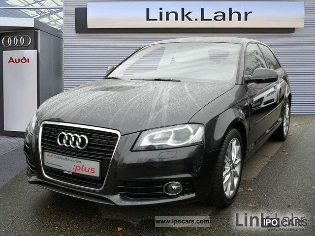2011 Audi  A3 S Line TDI Ambition exterior xenon plus Limousine Used vehicle photo