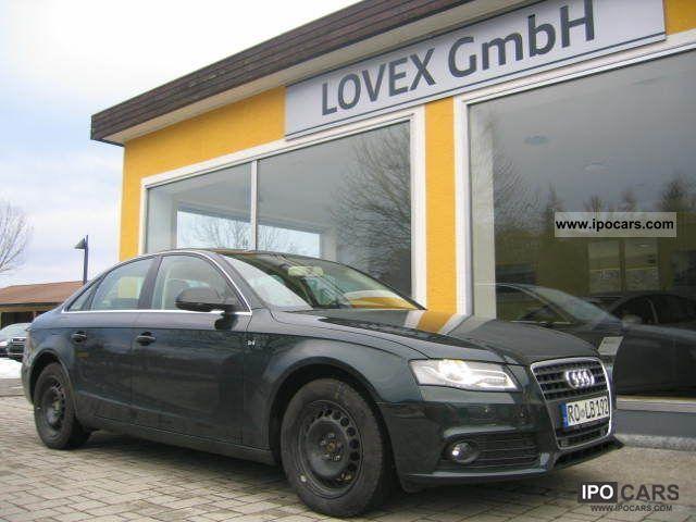 2010 Audi  A4 2.0 TDI multitronic xenon atmosphere SH Limousine Used vehicle photo