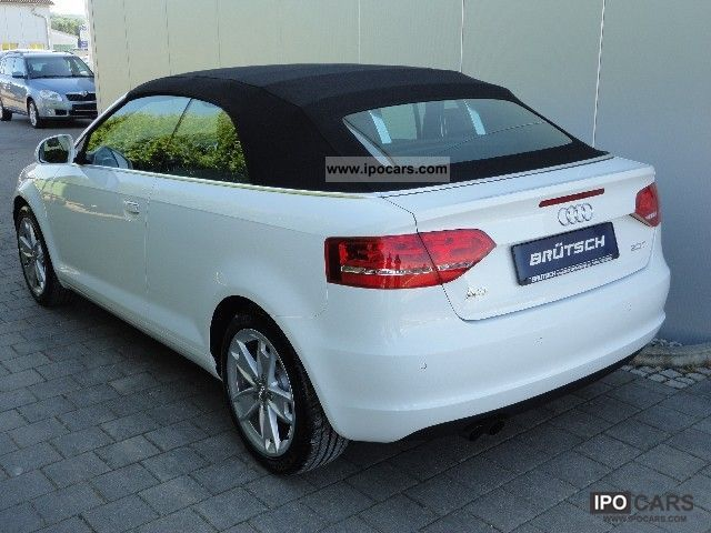 2009 audi a3 convertible 2 0 tfsi ambition leather pdc car photo and specs. Black Bedroom Furniture Sets. Home Design Ideas
