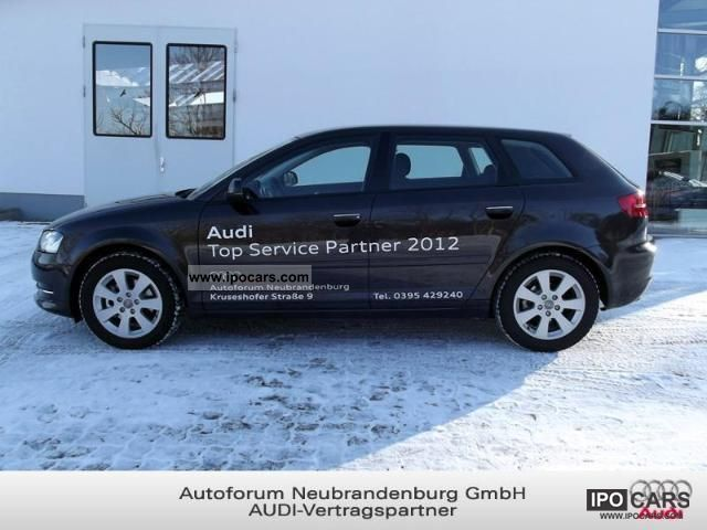 2012 audi a3 sportback car photo and specs. Black Bedroom Furniture Sets. Home Design Ideas