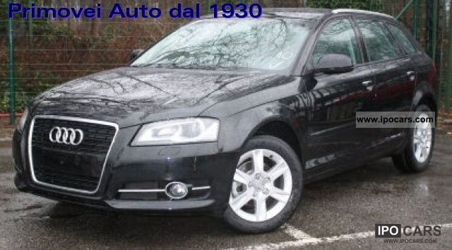 2011 Audi  A3 SPB. 1.6 TDI Attraction St / St Limousine New vehicle photo