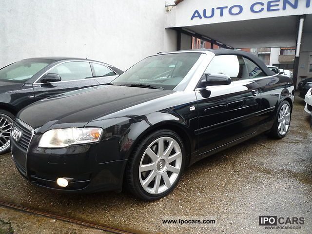 2006 audi a4 cabriolet 3 2 fsi quattro exclusiveline navigation car photo and specs. Black Bedroom Furniture Sets. Home Design Ideas