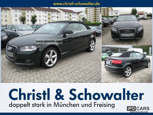2008 Audi  A3 Convertible 2.0 TDI Ambition S tronic A3 103 kW Cabrio / roadster Used vehicle photo