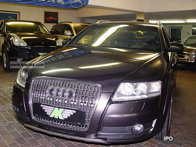2007 audi a6 allroad quattro 3 2 fsi tiptronic navi plus car photo and specs. Black Bedroom Furniture Sets. Home Design Ideas