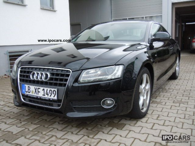 2007 Audi  A5 2.7 TDI DPF multi. Leather Navi Xenon Standhe Sports car/Coupe Used vehicle photo