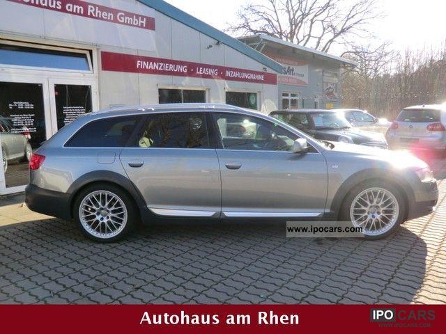 2008 Audi A6 Allroad Quattro 3 0 Tdi Bi Xenon Mmi Ahk 19 Car Photo And Specs