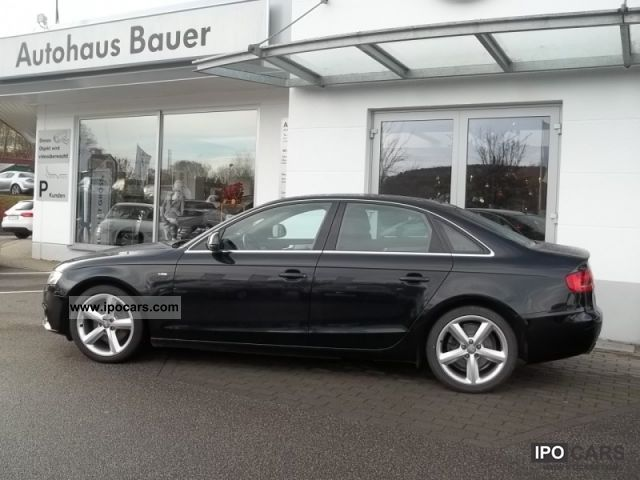 2008 audi a4 s line sports package plus mmi car photo and specs. Black Bedroom Furniture Sets. Home Design Ideas