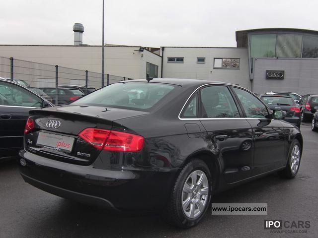 2010 Audi  A4 Saloon 2.0 TDI Navi Plus SH GRA FIS GSP IS Limousine Used vehicle photo