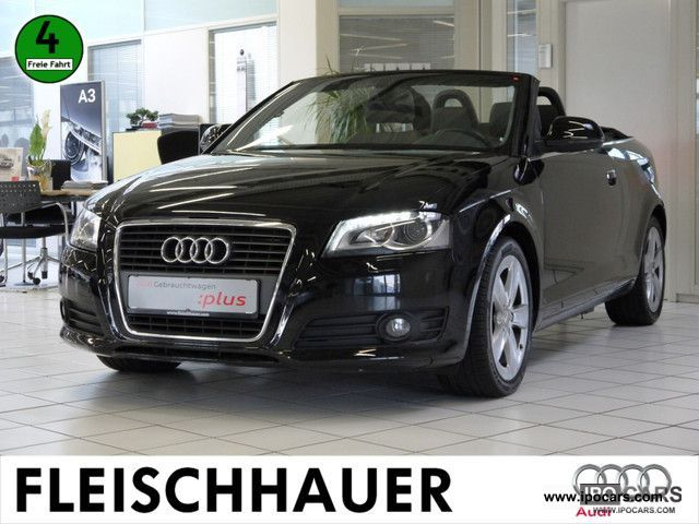 2008 Audi  A3 Convertible 2.0 TFSI Ambition NAVIGATION Cabrio / roadster Used vehicle photo