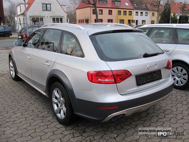 2009 audi a4 allroad quattro 2 0 tdi related infomation. Black Bedroom Furniture Sets. Home Design Ideas