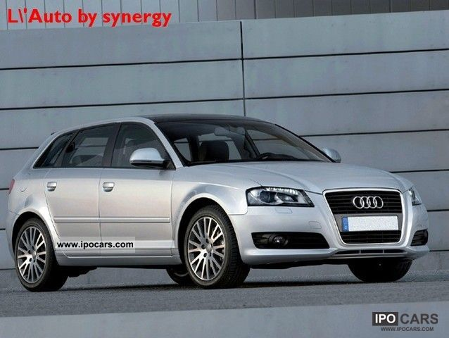 2008 Audi  A3 SPB. 2.0 TDI F.AP. S.tr atmosphere mod nuovo Limousine Used vehicle photo