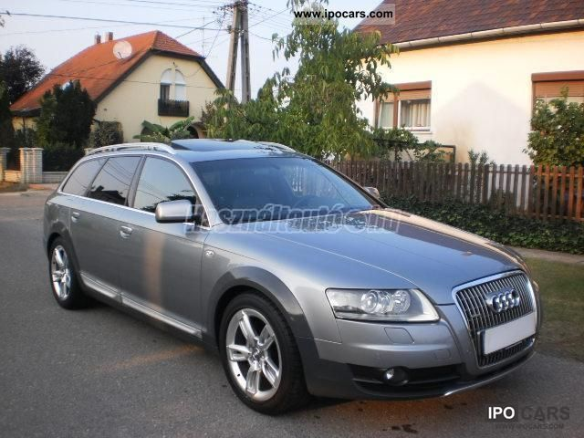 2008 audi a6 allroad quattro 3 0 tdi vollausstattung car photo and specs. Black Bedroom Furniture Sets. Home Design Ideas