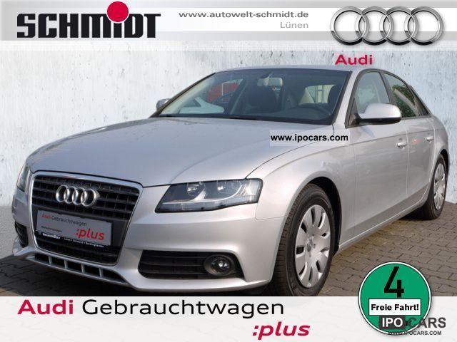 2010 Audi  A4 2.0 TDI e Navi, Bluetooth, PDC, GRA (air) Limousine Used vehicle photo