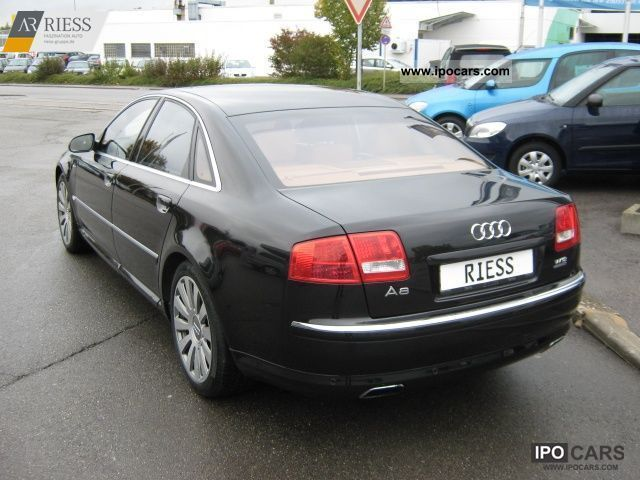 2005 audi a8 w12 6 0 quattro navi xenon pts tv tuner car photo and specs. Black Bedroom Furniture Sets. Home Design Ideas