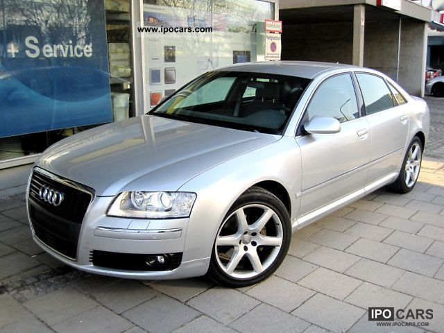 2007 Audi  A8 3.0 TDI, Navi, Xenon, Leather, ACC, camera, Limousine Used vehicle photo