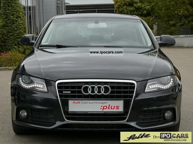 2008 audi a4 3 0 tdi dpf quattro tiptronic ambition navigation car photo and specs. Black Bedroom Furniture Sets. Home Design Ideas