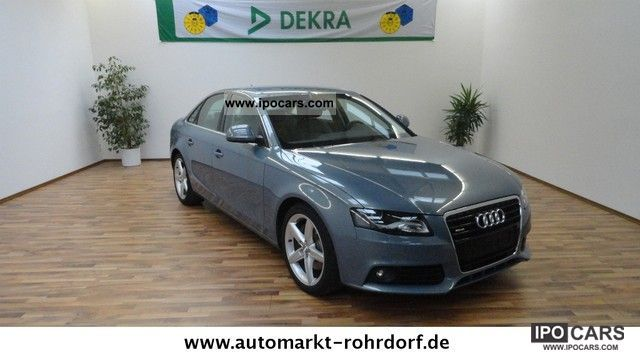 2008 Audi  A4 3.2 FSI Ambiente leather navigation xenon Limousine Used vehicle photo