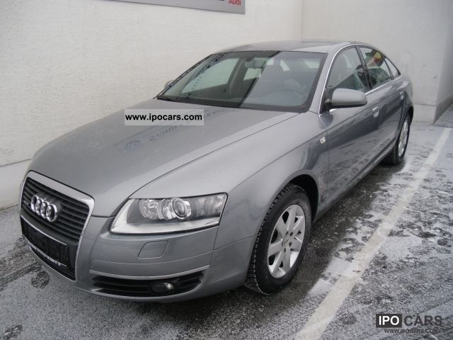 2007 audi a6 3 2 fsi quattro sedan tiptronic xenon air car photo and specs. Black Bedroom Furniture Sets. Home Design Ideas