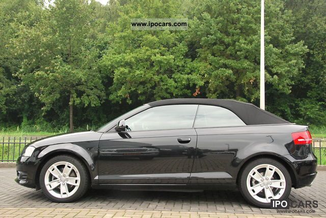 2009 audi a3 cabriolet 2 0 tdi s line sport package plus car photo and specs. Black Bedroom Furniture Sets. Home Design Ideas