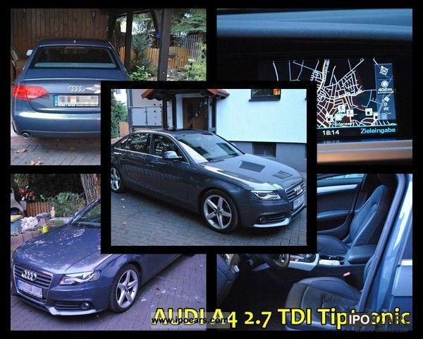 2008 Audi  A4 2.7 TDI Tiptronic-top equipment! Limousine Used vehicle photo