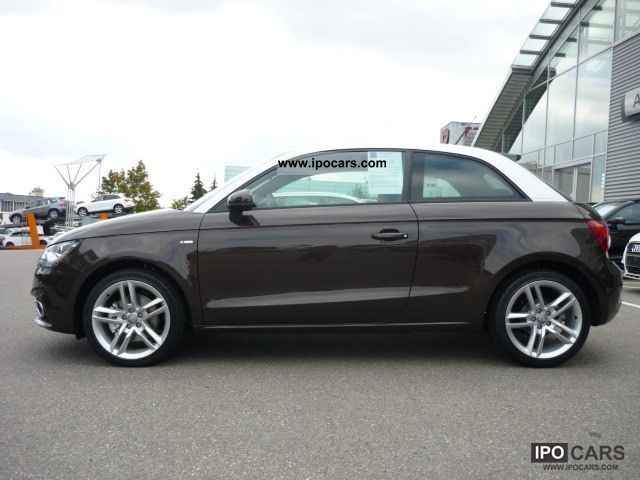 2011 audi a1 3 door 1 4 tfsi s line 90 122 kw ps 6 gan car photo and specs. Black Bedroom Furniture Sets. Home Design Ideas