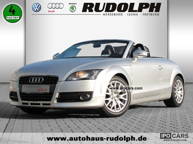 2007 audi leather bose sound system tt roadster xenon. Black Bedroom Furniture Sets. Home Design Ideas