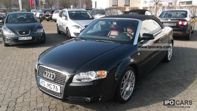 2006 audi a4 cabriolet 3 2 fsi quattro car photo and specs. Black Bedroom Furniture Sets. Home Design Ideas