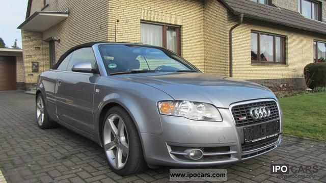 2006 audi a4 cabriolet 2 0 tfsi s line car photo and specs. Black Bedroom Furniture Sets. Home Design Ideas