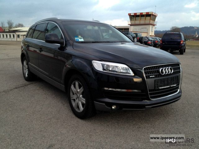 2006 audi q7 3 0 tdi dpftiptronic keyless go7sitze camera car photo and specs. Black Bedroom Furniture Sets. Home Design Ideas