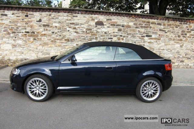 2009 audi a3 cabriolet 2 0 tdi ambition car photo and specs. Black Bedroom Furniture Sets. Home Design Ideas