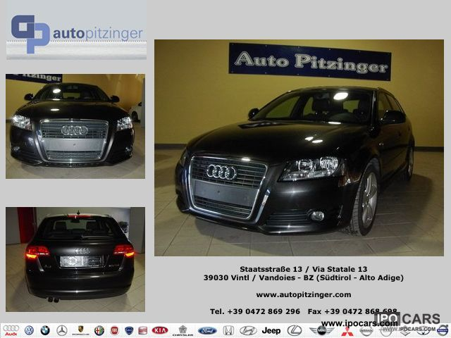 2009 Audi  A3 SPB. 2.0 TDI F.AP. S-LINE Limousine Used vehicle photo