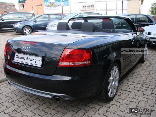 2008 audi a4 convertible s line quattro 3 2 fsi leather. Black Bedroom Furniture Sets. Home Design Ideas