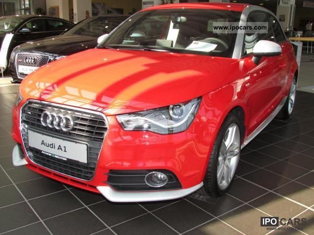 2012 audi a1 1 4 tfsi s line xenon park system heated. Black Bedroom Furniture Sets. Home Design Ideas