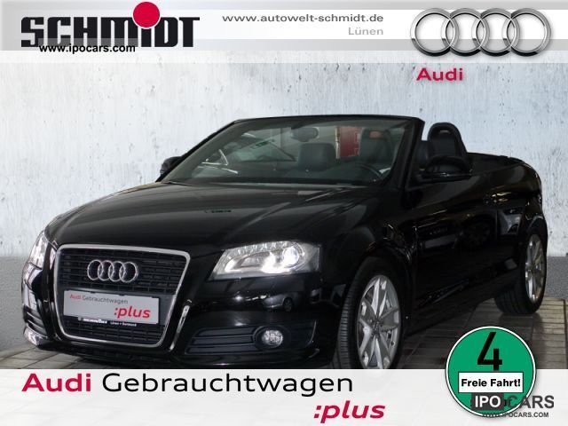 2008 Audi  A3 Convertible 2.0 TDI Ambition Xenon, Bose, Navi, Cabrio / roadster Used vehicle photo