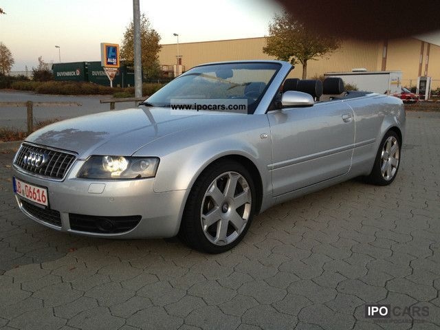2005 audi s4 cabriolet quattro 4 2 v8 with trailer hitch car photo and specs. Black Bedroom Furniture Sets. Home Design Ideas