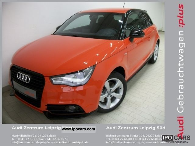 2011 Audi  A1 1.4l TFSI Ambition S-Line, 6 speed, Xenon Limousine Demonstration Vehicle photo