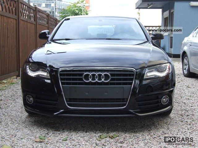 2010 Audi  A4 2.0 TDI (DPF) S LINE SPORT PACKAGE (PLUS) Limousine Used vehicle photo