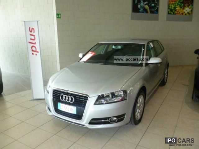 2010 Audi  A3 SPB. 1.6 TDI CR F.AP. Ambiance Limousine Used vehicle photo