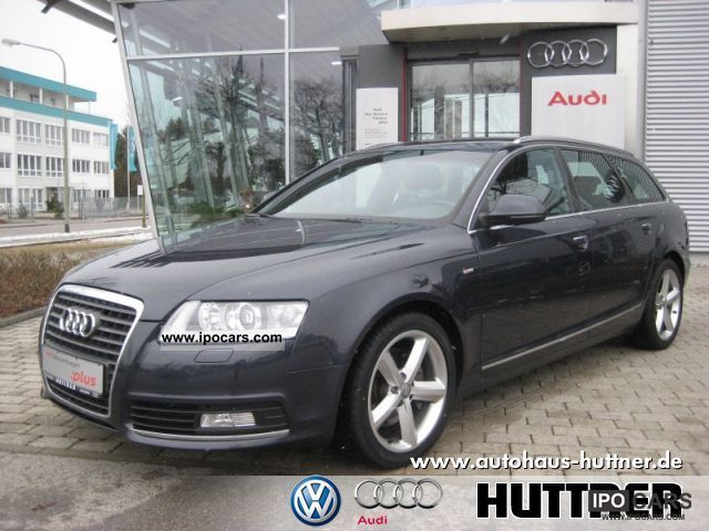2009 Audi  A6 Avant S line 2.0 TDI 6-speed Estate Car Used vehicle photo