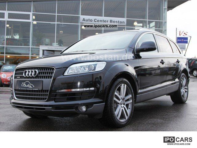 2006 audi q7 3 0 tdi quattro navigation standheiz abt tuning car photo and specs. Black Bedroom Furniture Sets. Home Design Ideas