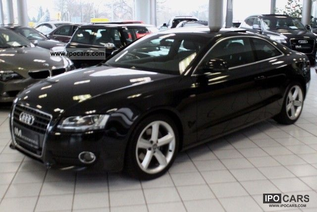 2008 Audi  A5 2.7 TDI S-line, plus * automatic * Panorama * Xenon * Sports car/Coupe Used vehicle photo