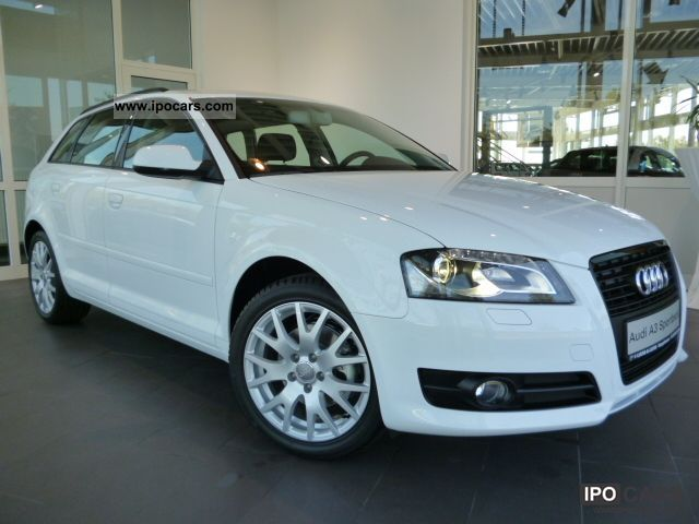 2012 Audi  A3 1.4 TFSI Sportback, optics package, xenon Concert Estate Car Used vehicle photo