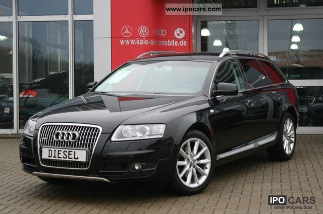 2008 audi a6 allroad quattro 2 7tdi leather xenon navi 18zol car photo and specs. Black Bedroom Furniture Sets. Home Design Ideas
