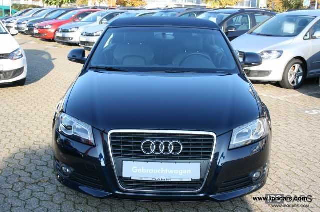 2009 audi a3 cabriolet 2 0 tdi s line s tronic sportpa car photo and specs. Black Bedroom Furniture Sets. Home Design Ideas