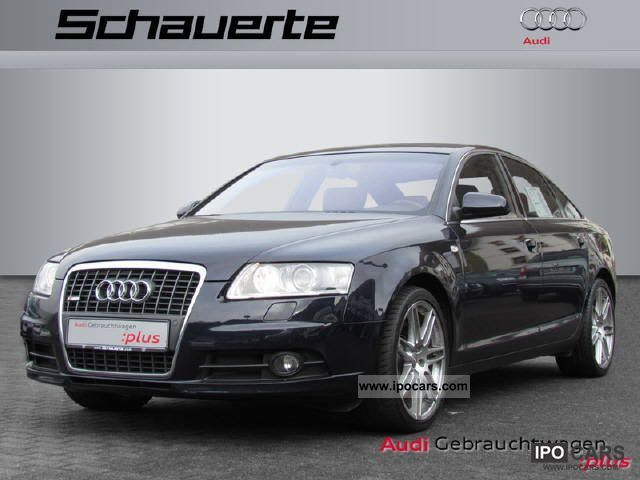 2008 Audi  A6 saloon heater, navigation system, xenon lights, leather ... Limousine Used vehicle photo