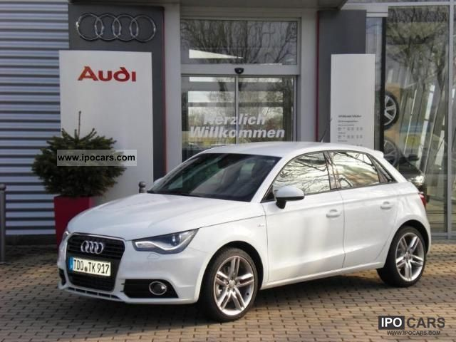2012 Audi  A1 S-Line 1.4 TFSI S-tronic, xenon lights, navigation system, BOSE u.v Limousine Demonstration Vehicle photo